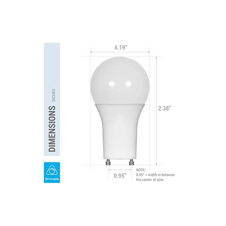 LED-GU24-A19-Light-Bulbs-60-Watt-Equivalent,-9.5-Watt-Dimmable-Lights-for-Home-with-Twist-&-Lock-Base,-Replacing-CFL-GU24-Ceiling-Light,-Omni-220-Degree-Beam-Angle,-800-Lumen.-(Natural-White-(3500K))