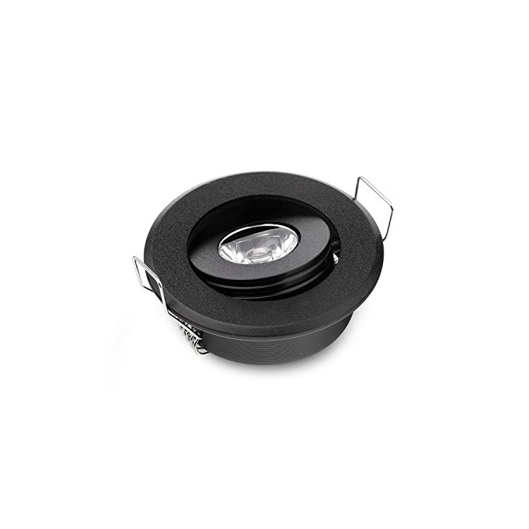 Pack-of-10-Mini-3W-LED-Spot-Light-Black-Recessed-Led-Ceiling-Light-for-Home-Cabinet