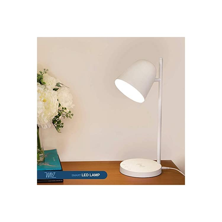 Javelin-Wireless-Charger-and-LED-Lamp-All-in-ONE,-3-Colors-Light-Mode,