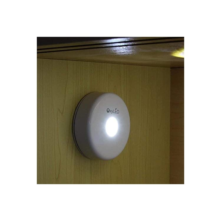 N05-Bright-LED-Night-Light/Touch-Tap-Push-Closets-Cabinet-Light,-White