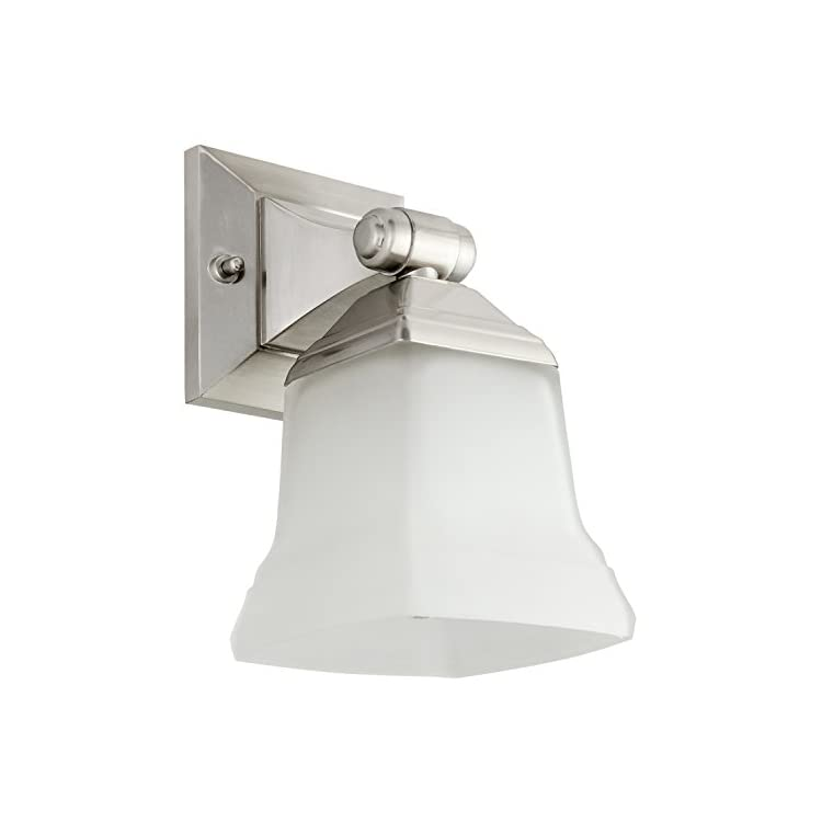 46061-SU-Bathroom-Vanity-Light-Fixture-5'-Bell-Shaped-Frosted-Glass,-1