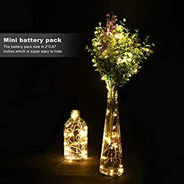 12-Pack-Fairy-Lights-Battery-Operated-LED-String-Lights,Warm-White,7.2Ft-20LED-Copper-Wire-String-Lights,Waterproof-Led-Firefly-Moon-Lights-for-Wedding-Mason-Jars-Teepee-Christmas-Decorations