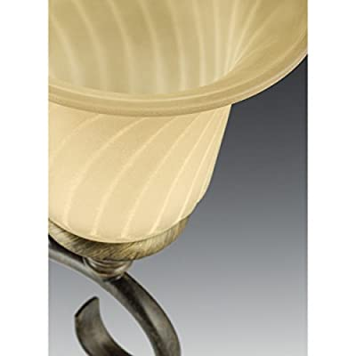 P2783-09-Transitional-One-Light-Bath-from-Kensington-Collection-in-Pwt,-Nckl,-B/S,-Slvr.-Finish,-Brushed-Nickel
