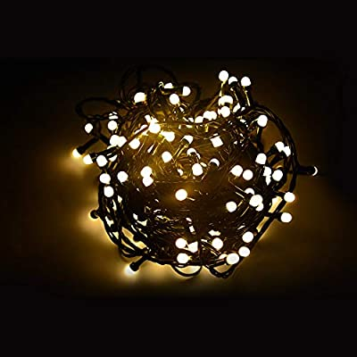 NOVOLINK-LED-String-Lights,-48.9ft-Indoor/Outdoor-Fairy-String-Lights,-200-LED-Wireless-Control-Waterproof-Christmas-Tree-Lights,-DIY-Flashing-Mode-and-Timer-Christmas-Decoration-for-Yard,-Party(Warm)