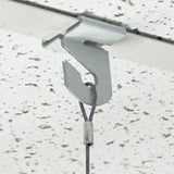 Extra-Heavy-Duty-White-Aluminum-Drop-Ceiling-Hooks,-One-Piece-Ceiling-