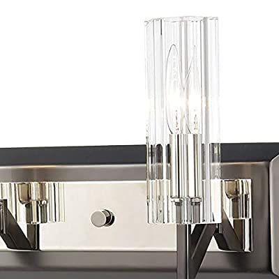 Elk-Lighting-55073/5-Vanity-Light,-Black-Nickel,-Polished-Nickel