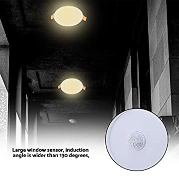 LED-Recessed-Lighting,-Sensor-Downlight-LED-Induction-Light-7w/5w-White-Round-LED-Human-Body-Induction-Light-for-Pathway,-Hallway,-Bathroom,-Bedroom-(2