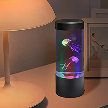 LED-Mini-Desktop-Fantasy-Jellyfish/Fish-Lamp-with-Color-Changing-Light-Effects.-A-Sensory-Synthetic-Jelly-Fish-Tank-Aquarium-Mood-Lamp.-Excellent-Gift