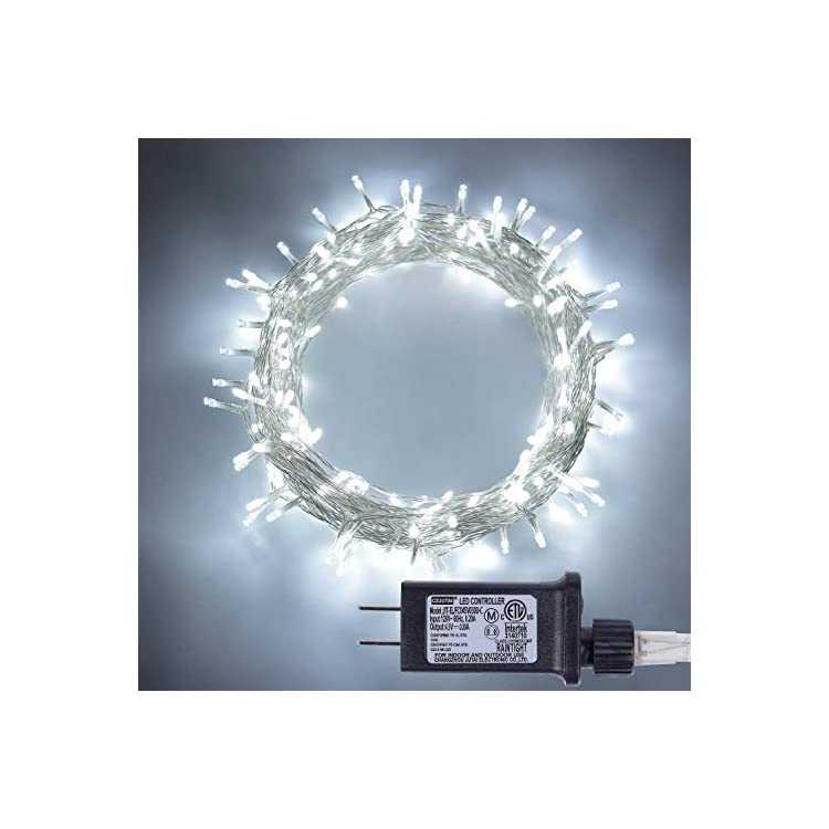100-LED-Fairy-String-Lights-with-Safe-Voltage-Transformer,-8-Modes-White-Christmas-Lights-for-Homes,-Wedding,-Party,-Indoor-and-Outdoor-Decoration.