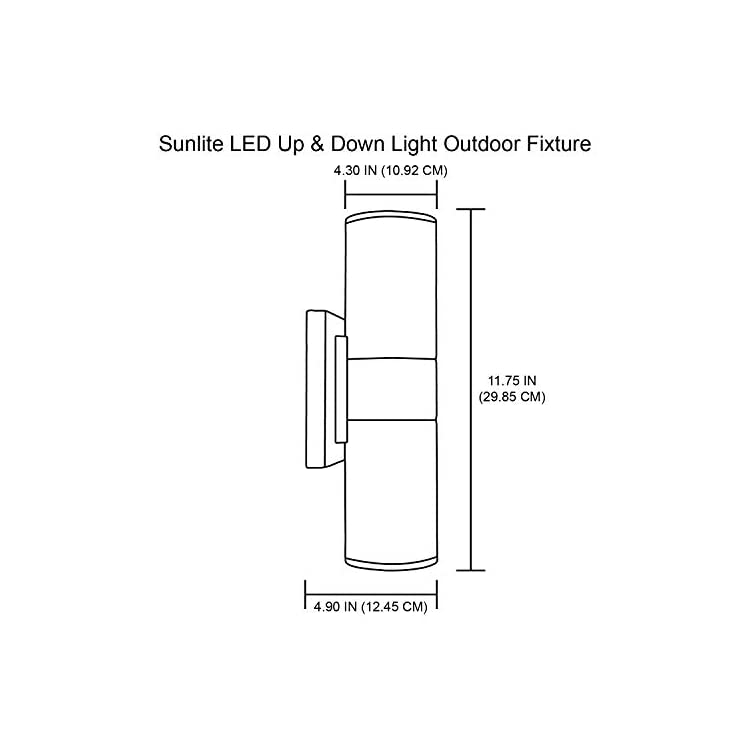 88132-SU-LED-Up-and-Down-Outdoor-Wall-Light-Fixture,-20-Watts,-1400-Lu