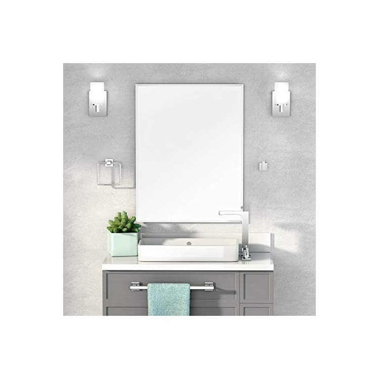 Beveled-Easy-Mount-Mirror,-31.5'-H-x-23.5'-W,-Silver