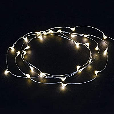 5ft.-Warm-White-LED-Lights-with-Timer,-for-Wedding,-Floral-&-Decorative-Decorations