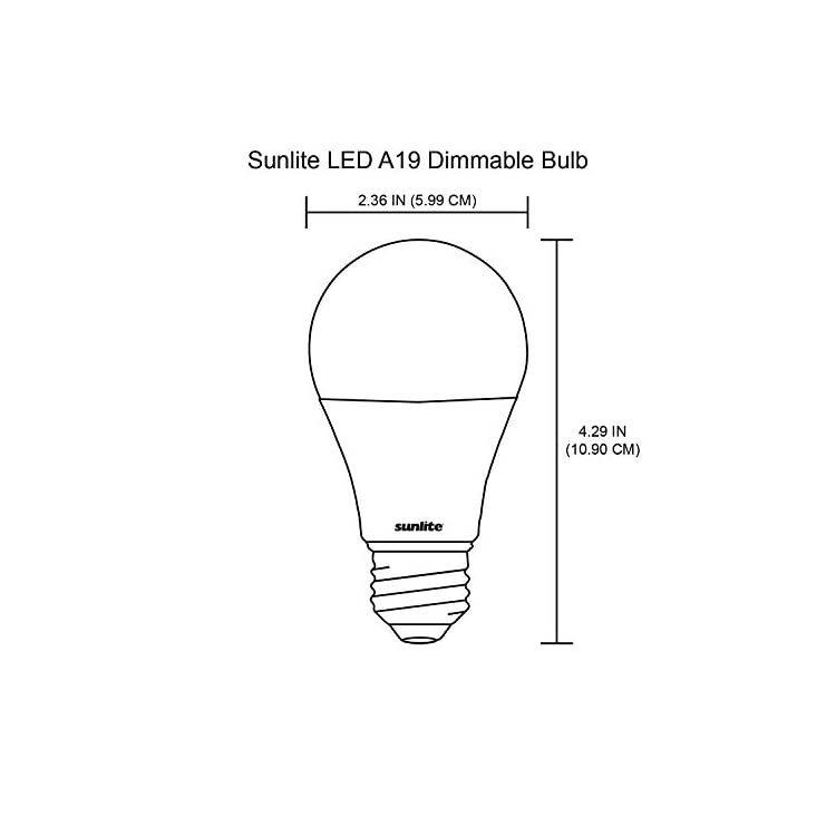 41379-SU-LED-A19-Light-Bulb,-9.5-Watts-(60W-Equivalent),-Medium-Base-(
