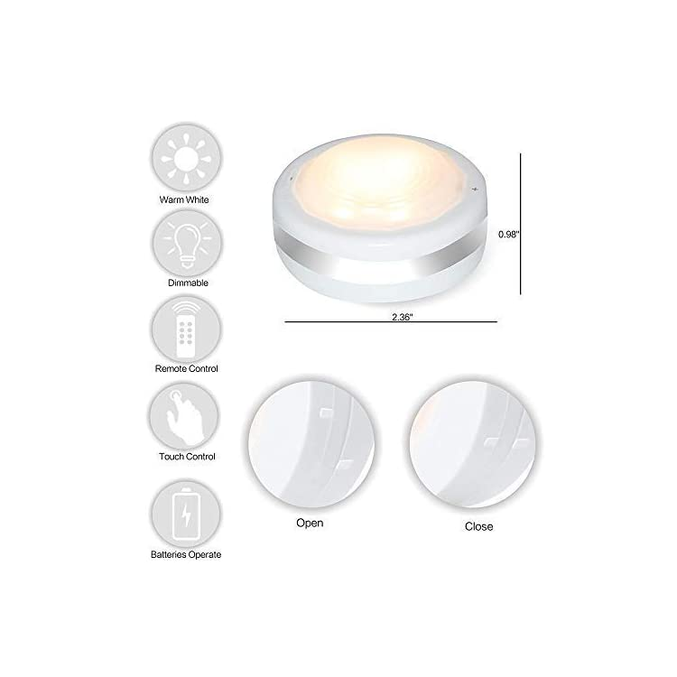 Puck-Lights-With-Remote,-Wireless-Led-Puck-Lights-Battery-Operated,-Led-Puck-Lights-With-Remote-Control,-Led-Under-Cabinet-Lighting,-Dimmable-Closet-Light,-Battery-Powered,-4000K-Natural-Whit