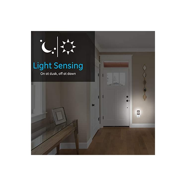 CoverLite-LED-Night-Light,-4-Pack,-Plug-in,-Dusk-to-Dawn-Sensor,-Home-Decor,-UL-Listed,-Ideal-for-Kitchen,-Bathroom,-Bedroom,-Office,-Nursery,-Hallway,-46457,-Oil-Rubbed-Bronze-|-Geometric,-4
