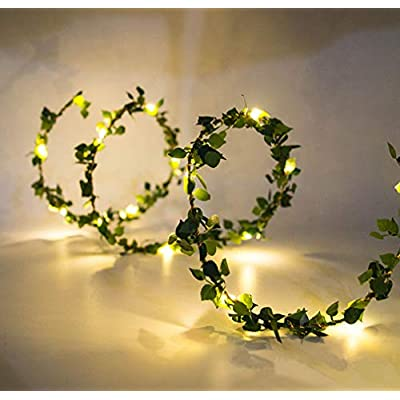 20LEDs-Warm-White-Tiny-Leaf-Garland-Holiday-Copper-Battery-Powered-Fairy-String-Lights-for-Christmas-Party-New-Year-Wedding-Garden-Décor-(Warm-White)
