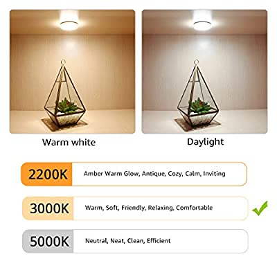 LE-LED-Under-Cabinet-Lighting-Fixtures,-Puck-Lights-Kit,-1020-Lumens,-3000K-Warm-White,-Night-Light,-Perfect-for-Kitchen,-Closet,-Stairs-and-More,-All-Accessories-Included,-Pack-of-6