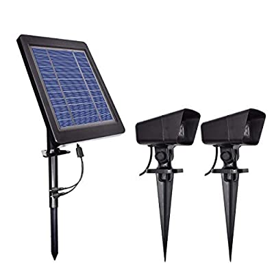 Solar-Spotlights-Dimmable-Garden-Lawn-Light-Brightness-Adjustable-Dusk