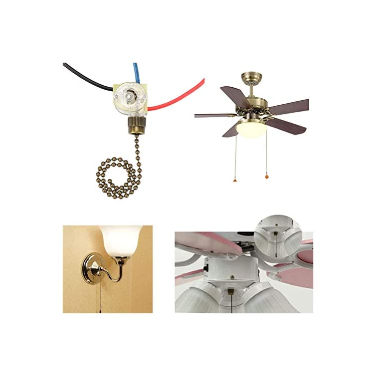 Zing-Ear-ZE-110-Ceiling-Fan-Light-Switch,-Replacement-Lamp-Pull-Chain-
