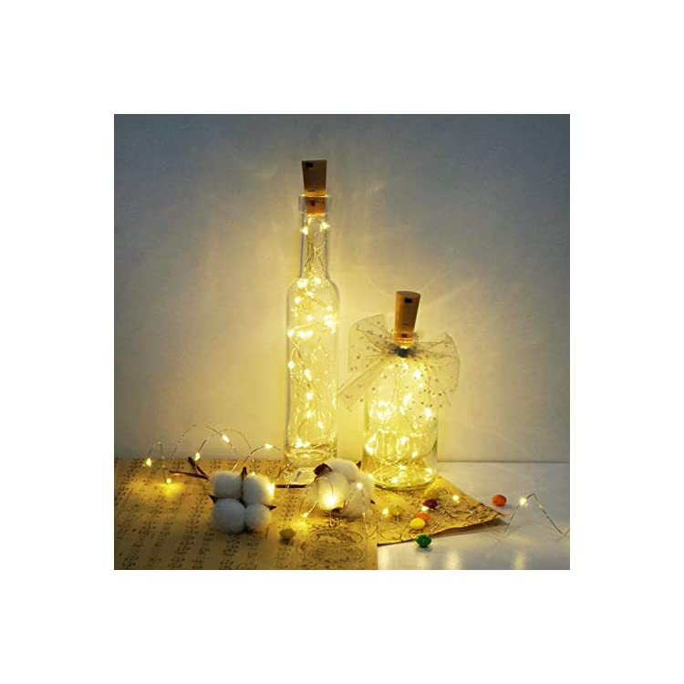 15-Pack-20-LED-Wine-Bottle-Lights-with-Cork,-Battery-Operated-Cork-Shape-Fairy-Waterproof-Copper-Silver-Wire-String-Lights-(Warm-White)