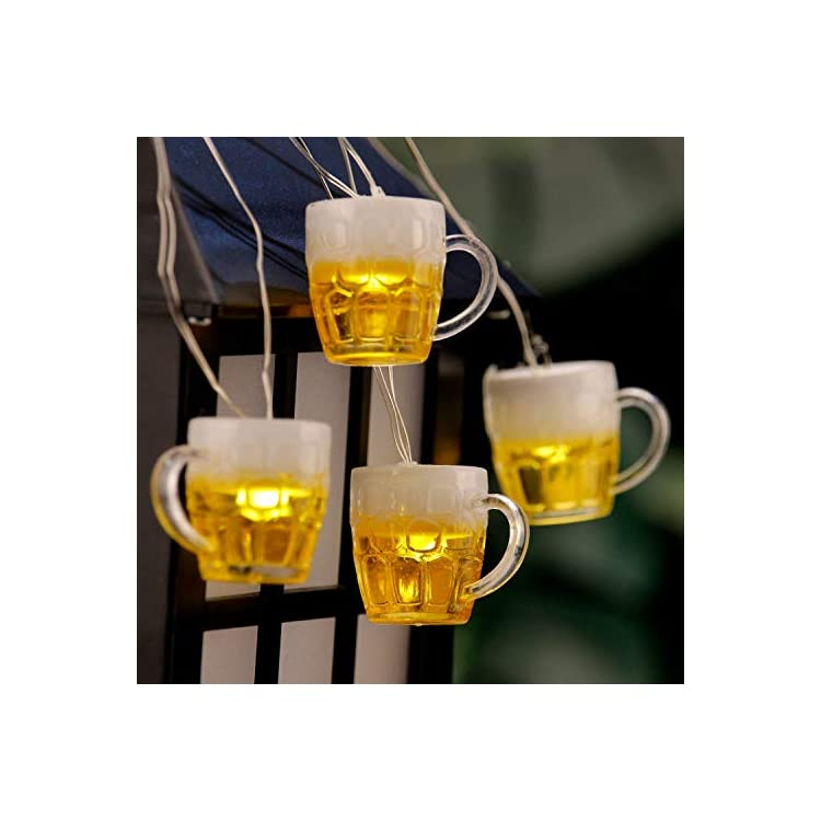 3D-Beer-Mug-String-Lights-St-Patrick's-Day-Decor,-10ft-15-LED-with-Remote-Control-USB-&-Battery-Powered-for-Bar-Christmas-Birthday-Wedding-Party-Bedroom-Dorm-Wreath-Summer-Club-Decorations