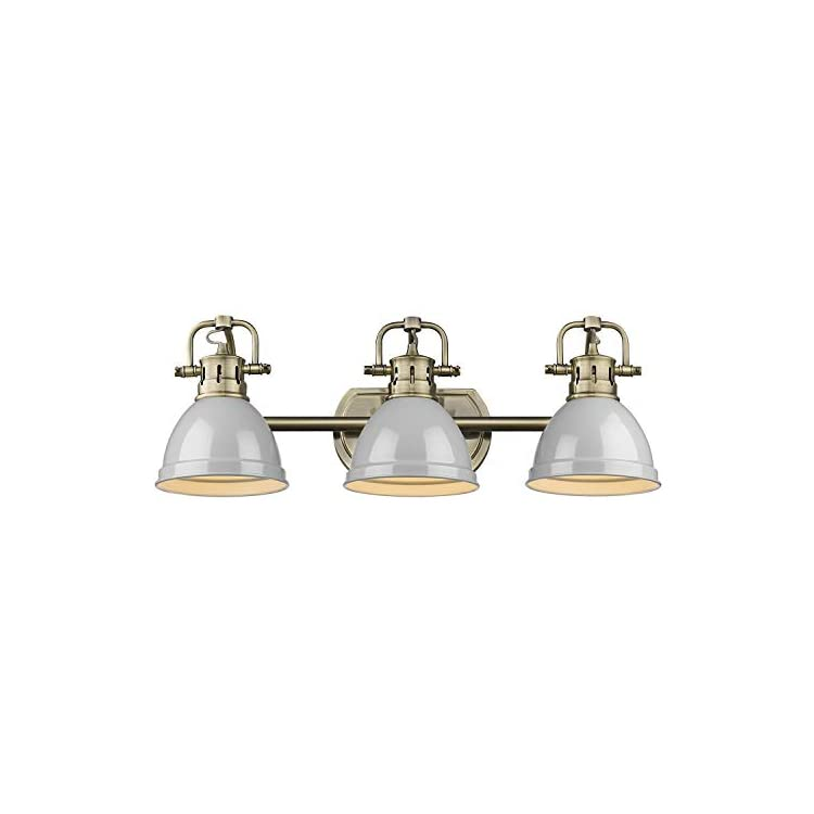 3602-BA3-AB-GY-Duncan-Bath-Fixture,-Aged-Brass-with-Gray-Shades