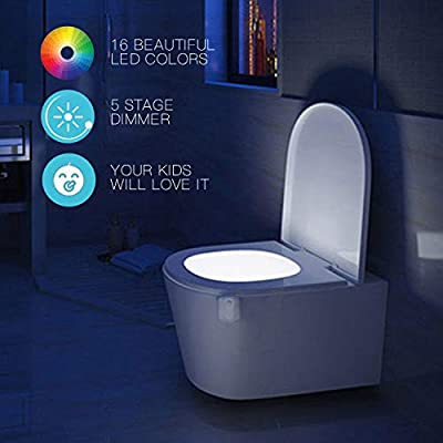 2-Pack-16-Color-Toilet-Night-Light,-Motion-Sensor-LED-Toilet-Bowl-Nightlight-with-IP67-Waterpfroof-Design,-Perfectly-for-Bathroom-and-Gift-Idea