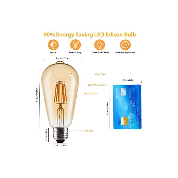 LED-Edison-Bulbs,-8-Pack-6W-Vintage-Style-LED-Filament-Light-Bulbs,-60W-Equivalent,-E26-Base,-Warm-White-2700K-600-Lumen,-Antique-ST64-Amber-Glass-Bulb-for-Home-Bathroom-Kitchen-Dining-Room