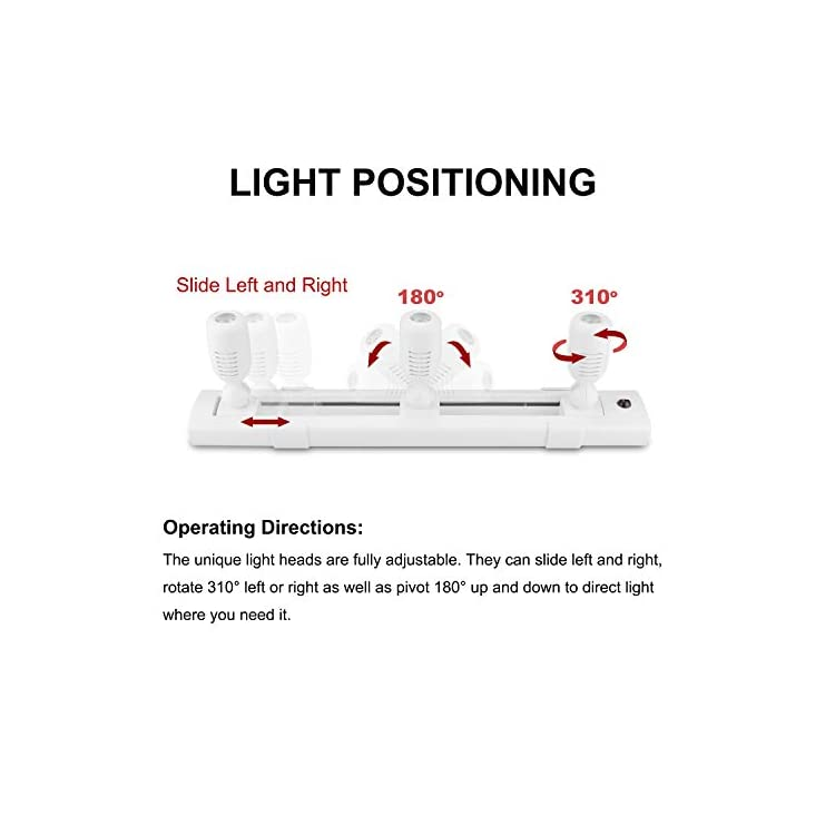 Track-Lighting-LED-Spotlights-with-3-Rotatable-Lights-Heads,-Under-Cabinet-Counter-Lighting-Plug-in-Accent-Lights-Remote-Controlled-Ceiling-Track-Lights-for-Wall-Picture-Artwork-Display