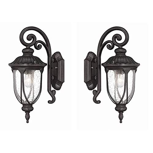 VC-2202BC-2-Laurens-Collection-1-Wall-Mount-Outdoor-Light-Fixture,-2-Pack-Black-Coral