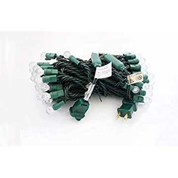 Berry-Christmas-Lights,-G12-LED-Christmas-Lights-70-Counts,-for-Outdoor-and-Indoor,-Cool-White,-Green-Wire,-6in-Spacing,-35.5ft,-UL-Listed