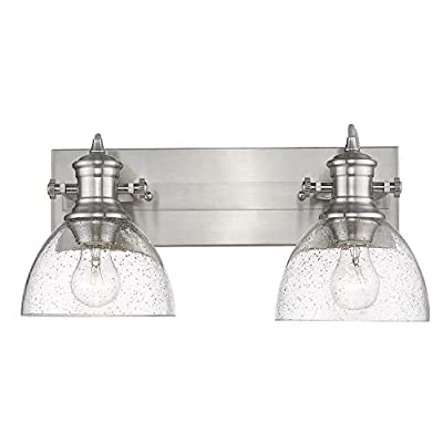 3118-BA2-PW-SD-Hines-Vanity-Light,-Pewter-with-Seeded-Glass