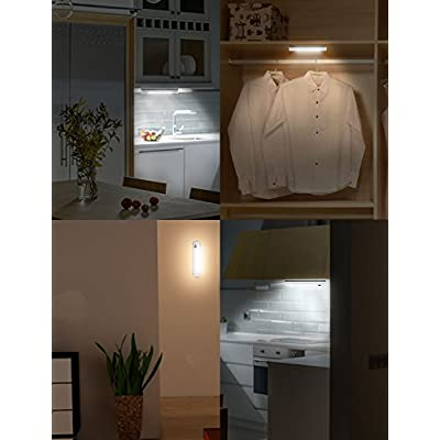 Closet-Light,-18-LED-COB-Night-Light,-Tap-Light,-Battery-Operated-Wireless-Super-Bright-Switch-Light-Magnet-Stick-on-Anywhere-for-Cabinet,-Shelf,-Shed,-Kitchen,-Garage,-Bedroom(2-Pack)