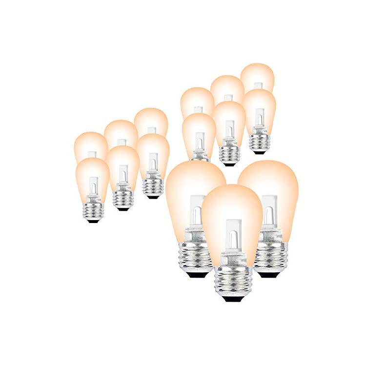 15-Pack-LED-S14-Replacement-Bulbs-E26-Medium-Base-Warm-White-2700K-0.9W-LED-Lights-Bulb-6-Watt-Incandescent-Bulbs-Equivalent