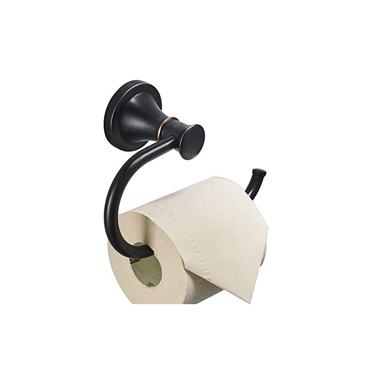 Oil-Rubbed-Bronze-Toilet-Tissue-Paper-Holder-Oil-Rubbed-Bronze-Bathroom-Accessories-Toilet-roll-Paper-Hanger,-Wall-Mounted,-Rustproof