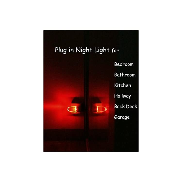 Plug-in-LED-Night-Light-Lamp-4-Pack-with-Light-Sensor-RED