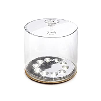 Luci-Solar-Chargeable-Lantern-One-Size-Clear-by
