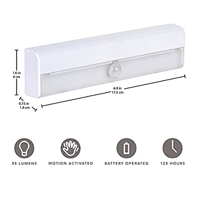 Wireless-LED-Stair-Lights-3-Pack-|-LED-Motion-Sensor-Light-|-Closet-Light|-Battery-Operated-Light-|-Stick-On-Lights-|-Motion-Activated-Indoor-Step-Lights-|-Motion-Night-Light