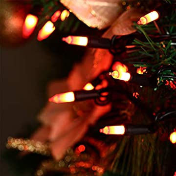Halloween-String-Lights-24ft-100-Incandescent-Orange-Mini-Bulbs-Lights,-Halloween-Lighting-Decor-for-Outdoor-and-Indoor-Use,-Fairy-Garden,-Yard,-Home,-Party,-Holiday,-Halloween-Decorations