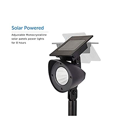 Solar-Powered-LED-Spot-Lights-|-High-Output-Waterproof-Pathway-Lights-