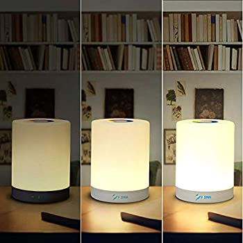 Table-Lamp,-Rechargeable-LED-Touch-Sensor-Control-Beside-Lamp-Dimmable