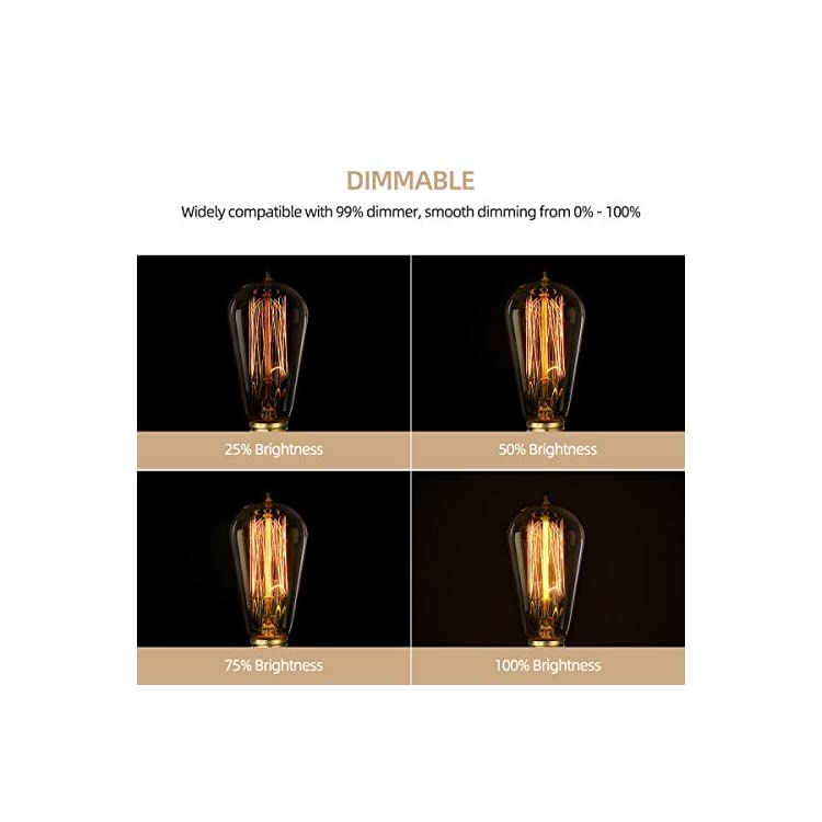 6-Pack-Edison-Light-Bulbs,-60w-Vintage-Edison-Bulb,-Squirrel-Cage-Filament-Edison-Bulbs,-E26-Base---Amber-Glass---110V---Warm-White---Dimmable---ST58-Decorative-Lightbulbs