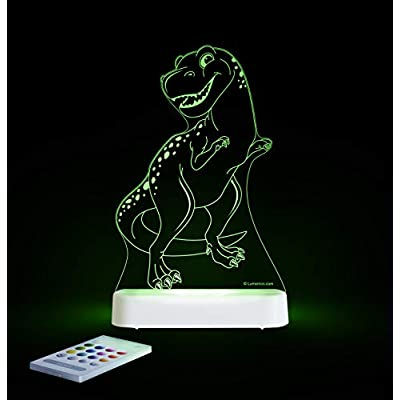 T-Rex-Dinosaur-SleepyLight--Color-Change-12-Color-Pattern-LED-Decorative-Night-Light-for-Kids-with-Remote