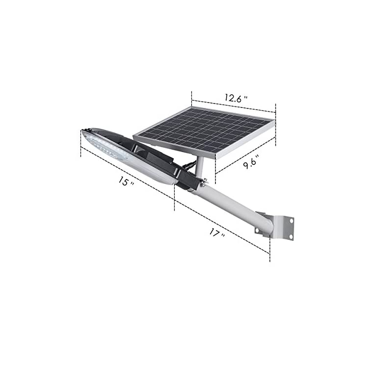 TIN-Sum-100W-LED-Solar-Street-Light,12000LM-6500K-Solar-Powered-Lamp,I