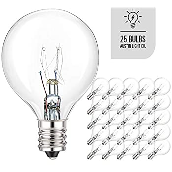 --Pack-of-25-Glass-Globe-Light-Bulbs-–-Clear-G40-Size-with-Candelabra-
