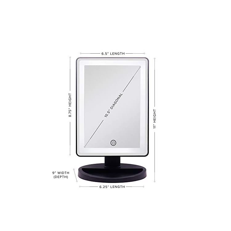 Impressions-Vanity-White-Touch-Infinity-Makeup-Vanity-Mirror-with-LED-Lights