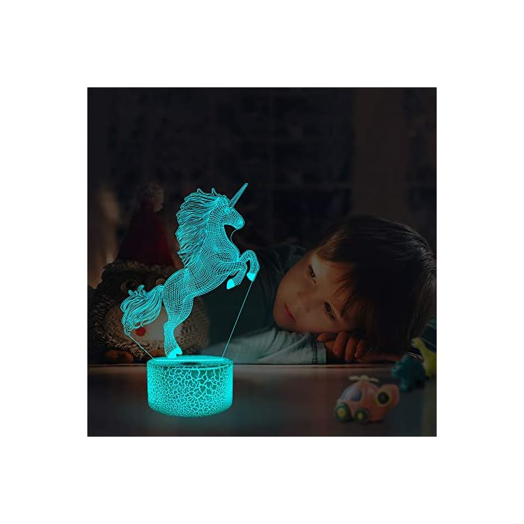 Unicorn-Night-Light-for-Kids,3D-Illusion-Lamp-wtih-Remote-Control-16-C