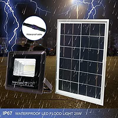 Solar-Flood-Lights-Outdoor-Dusk-to-Dawn,-40W-Waterproof-LED-Lights-wit