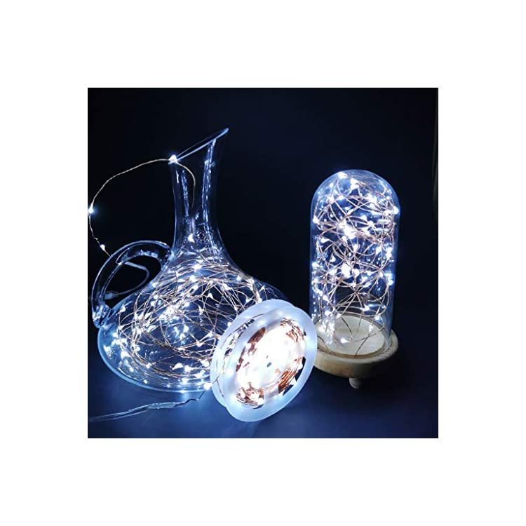 66ft-200-Led-USB-Powered-LED-Fairy-String-Lights,-Waterproof-Starry-Copper-String-Lights-for-Bedroom-Indoor-Outdoor-Wedding-Holiday-Christmas-Decor-(66ft,-White)