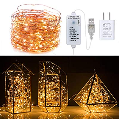 40Ft-120-LED-Fairy-Lights-Waterproof-Starry-Firefly-String-Lights-Plug-in-on-a-Flexible-Copper-Wire-Perfect-for-Christmas-Party-DIY-Wedding-Bedroom-Indoor-Party-Decorations,-Warm-White